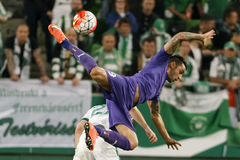 Ferencvaros, Ujpest OTP banka Ligowy futbolowy dopasowanie - Obrazy Royalty Free