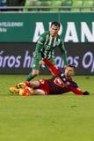 Ferencvaros - Videoton Hungarian Cup quarter final football match Stock Images