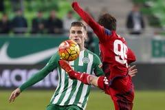 Ferencvaros - Videoton OTP Bank League football match Stock Photos