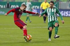 Ferencvaros - Videoton OTP Bank League football match Royalty Free Stock Photos