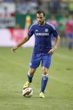 Ferencvaros vs. Chelsea stadium opening football match Stock Images