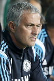 Ferencvaros vs. Chelsea stadium opening football match Stock Photos