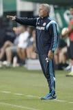 Ferencvaros vs. Chelsea stadium opening football match Royalty Free Stock Photo