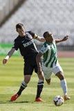 Ferencvaros vs. Diosgyori VTK football match Royalty Free Stock Image