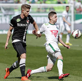 Ferencvaros vs. DVTK OTP Bank League football match Stock Images