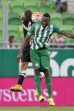 Ferencvaros vs. DVTK OTP Bank League football match Royalty Free Stock Photo
