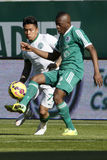 Ferencvaros vs. Gyori ETO OTP Bank League football match Stock Photos