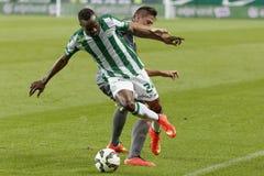 Ferencvaros vs. Haladas OTP Bank League football match Royalty Free Stock Image