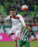 Ferencvaros vs. Honved OTP Bank League football match Stock Image