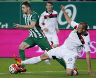 Ferencvaros vs. Honved OTP Bank League football match Stock Photos