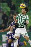 Ferencvaros vs. Kecskemet OTP Bank League football match Stock Photo