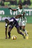 Ferencvaros vs. Kecskemet OTP Bank League football match Stock Images