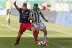 Ferencvaros vs. Nyiregyhaza OTP Bank League football match Stock Images