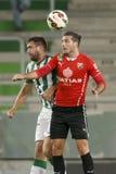 Ferencvaros vs. PMFC-MATIAS OTP Bank League football match Stock Photography
