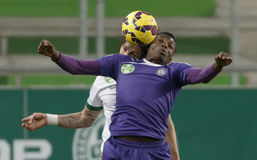 Ferencvaros vs. Ujpest League Cup football match Stock Photo