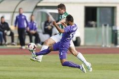 Ferencvaros vs. Ujpest OTP Bank League football match Stock Photography
