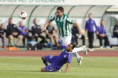 Ferencvaros vs. Ujpest OTP Bank League football match Royalty Free Stock Image
