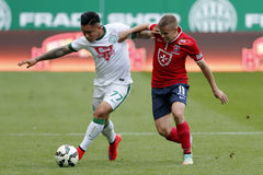 Ferencvaros vs. Videoton OTP Bank League football match Stock Images