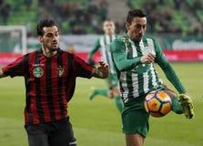 Ferencvarosi TC v Budapest Honved - copo húngaro 2-1 do futebol Imagens de Stock