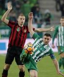 Ferencvarosi TC v Budapest Honved - copo húngaro 2-1 do futebol Imagem de Stock Royalty Free