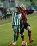 Ferencvarosi TC v Budapest Honved - copo húngaro 2-1 do futebol Imagens de Stock Royalty Free