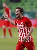 Ferencvarosi TC v DVTK - Hungarian Cup  2-1 Royalty Free Stock Photo