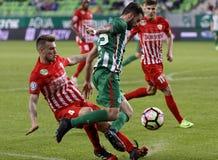 Ferencvarosi TC v DVTK - Hungarian Cup  2-1 Stock Photos