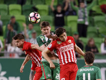 Ferencvarosi TC v DVTK - Hungarian Cup  2-1 Royalty Free Stock Photos