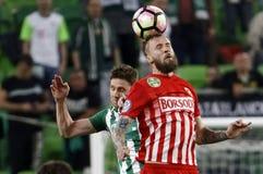 Ferencvarosi TC v DVTK - Hungarian Cup  2-1 Royalty Free Stock Image
