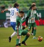 Ferencvarosi TC v MTK Budapest - węgra OTP bank Liga 1-1 Obraz Royalty Free