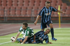 Ferencvarosi TC vs. Sliema UEFA EL football match Royalty Free Stock Photography