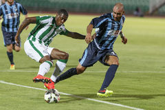 Ferencvarosi TC vs. Sliema UEFA EL football match Royalty Free Stock Images