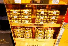 Fererro Rocher Royalty Free Stock Photo