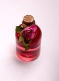 Ferfume. Red ferfume on a white background Stock Image