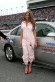 Fergie присутствует на NASCAR Daytona 500 стоковая фотография rf