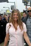 Fergie deltar i NASCAR Daytona 500 royaltyfria bilder