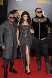 Black Eyed Peas, pois Noir-Eyed, Fergie Images stock