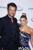 Fergie, Josh Duhamel. Josh Duhamel, Fergie  at the Clinton Foundation Gala in Honor of A Decade of Difference,  Palladium, Hollywood, CA 10-14-11 Royalty Free Stock Image