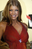 Fergie on the red carpet. Fergie on the red carpet at VH1 Big in 04 in Los Angeles on December 2 2004 Royalty Free Stock Image
