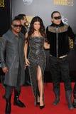 Black Eyed Peas, guisantes Negro-Observados, Fergie Imagenes de archivo