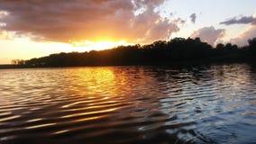 Fergus Falls, Minnesota-Sommer-Nächte Lizenzfreies Stockfoto