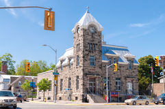Fergus, Ontario - Post Office building Stock Photography