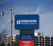 Ferguson, das Versorgungen, Memphis, TN plombiert lizenzfreie stockfotografie