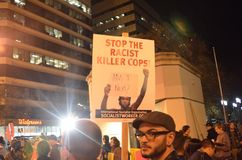 Ferguson Decision Protests In Oakland California Royalty Free Stock Photo