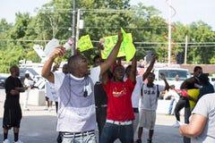 Ferguson demonstrationer Royaltyfri Foto