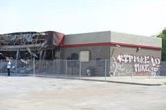Ferguson-Nachwirkungen lizenzfreie stockfotos