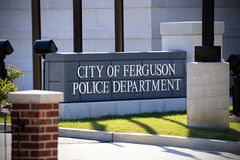 Ferguson Police Department Stock Images