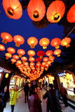 Feria china del templo del Año Nuevo 2016 y festival de linterna en Chengdu Fotos de archivo