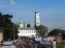 Feria colorida festiva Imágenes de archivo libres de regalías