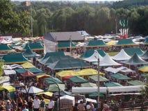 Feria colorida festiva Fotografía de archivo